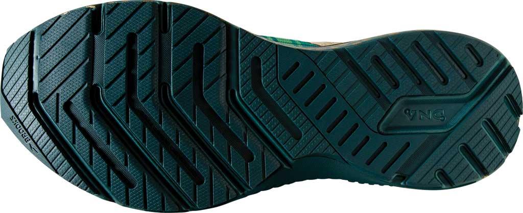 Women's Brooks Launch GTS 8 Running Sneaker, Fern Green/Metallic Gold/Deep Teal, large, image 6