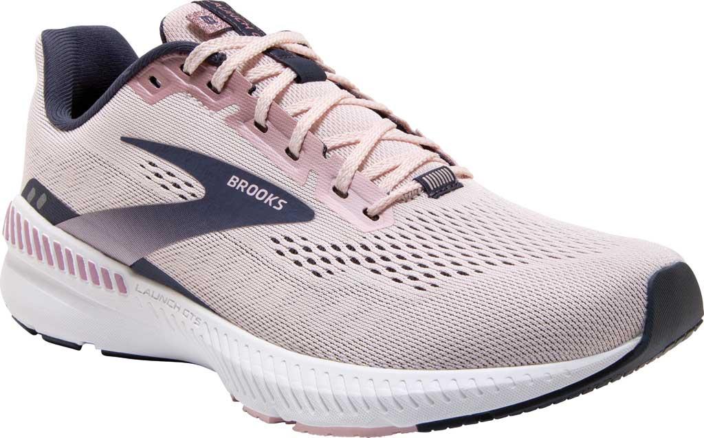 Women's Brooks Launch GTS 8 Running Sneaker, Primrose/Ombre/Metallic, large, image 1