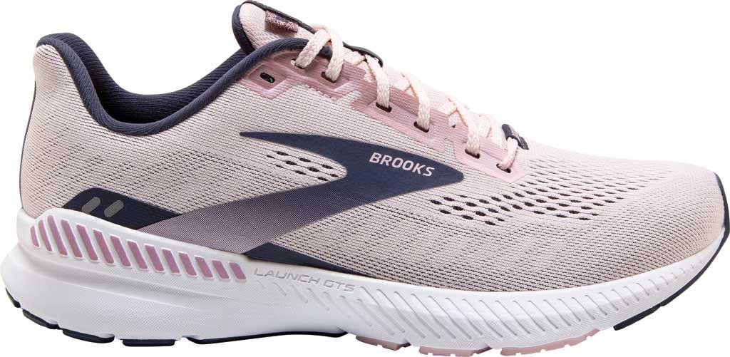 Women's Brooks Launch GTS 8 Running Sneaker, Primrose/Ombre/Metallic, large, image 2