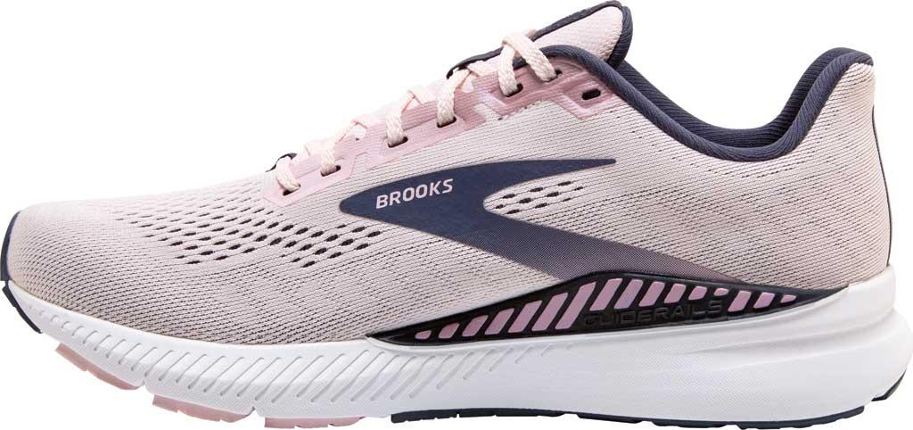 Women's Brooks Launch GTS 8 Running Sneaker, Primrose/Ombre/Metallic, large, image 3