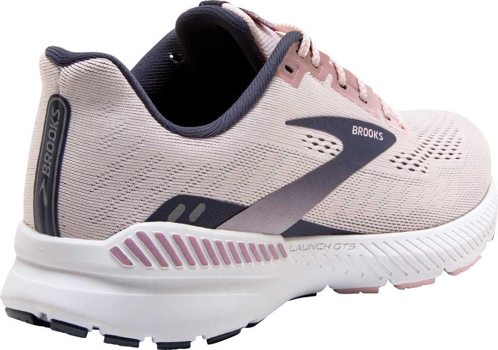 Women's Brooks Launch GTS 8 Running Sneaker, Primrose/Ombre/Metallic, large, image 4