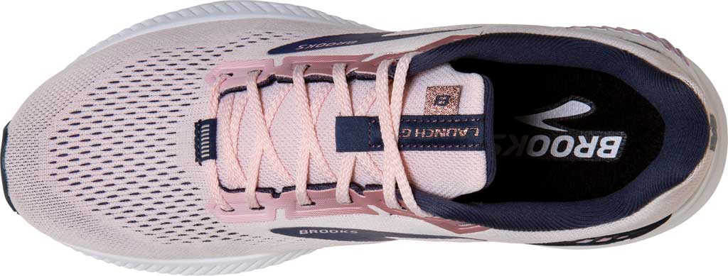 Women's Brooks Launch GTS 8 Running Sneaker, Primrose/Ombre/Metallic, large, image 5
