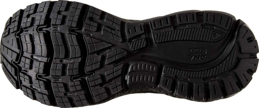 Women's Brooks Ghost 13 GORE-TEX Running Sneaker, Black/Black/Peacock, large, image 6