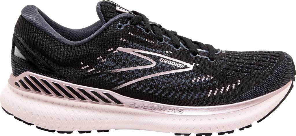 Women's Brooks Glycerin GTS 19 Running Sneaker, Black/Ombre/Metallic, large, image 2