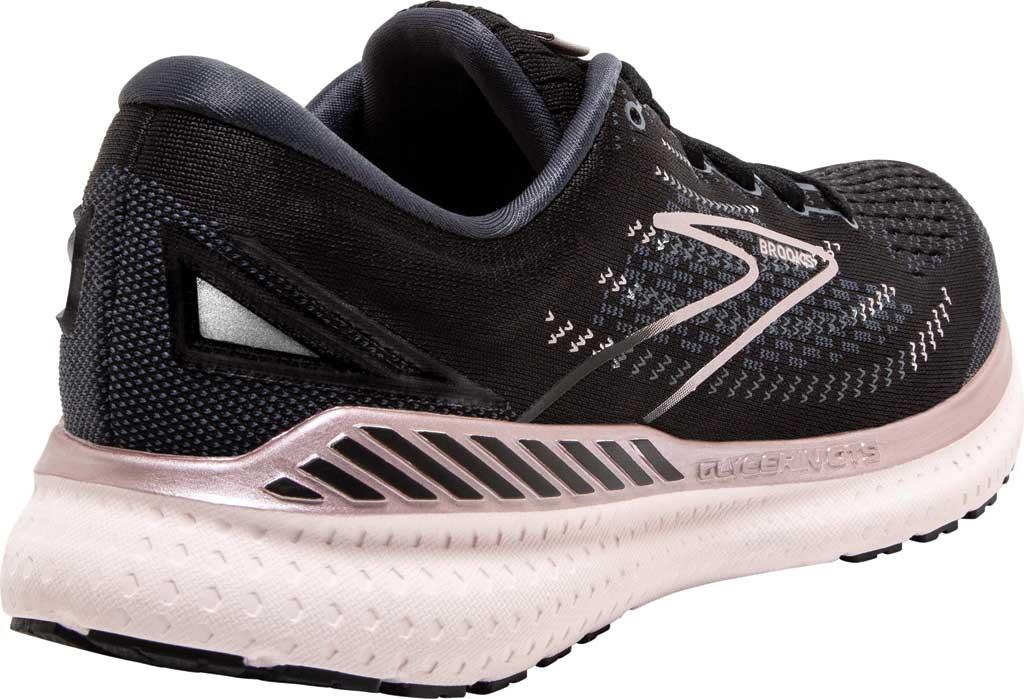 Women's Brooks Glycerin GTS 19 Running Sneaker, Black/Ombre/Metallic, large, image 4