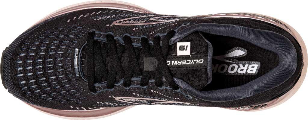 Women's Brooks Glycerin GTS 19 Running Sneaker, Black/Ombre/Metallic, large, image 5