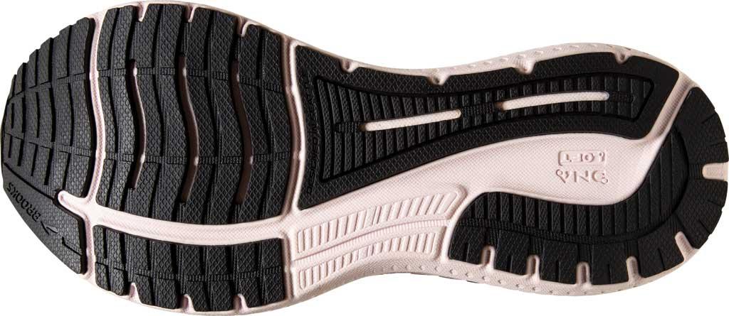 Women's Brooks Glycerin GTS 19 Running Sneaker, Black/Ombre/Metallic, large, image 6