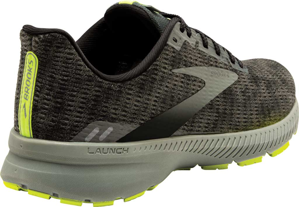 Men's Brooks Launch 8 Running Sneaker, Urban/Black/Nightlife, large, image 3