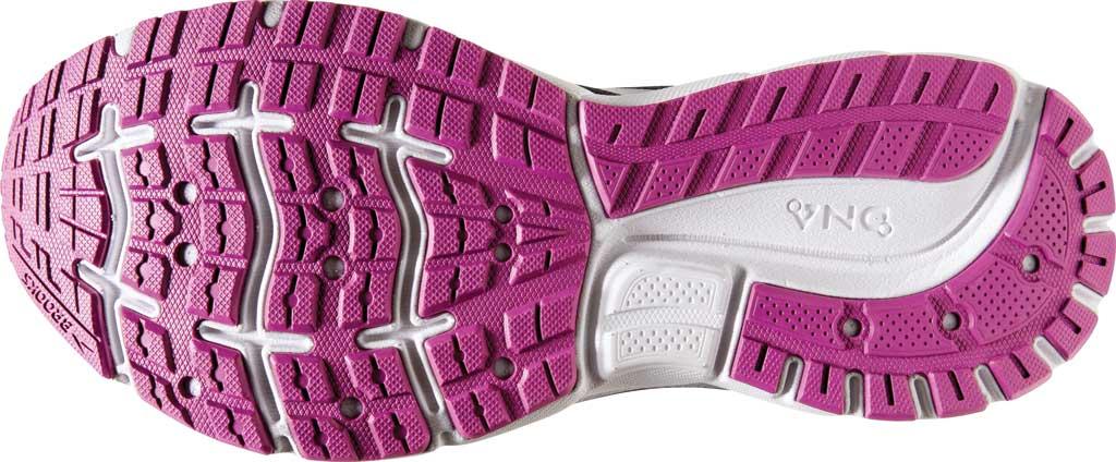 Women's Brooks Trace Running Sneaker, Ebony/Black/Wood Violet, large, image 6