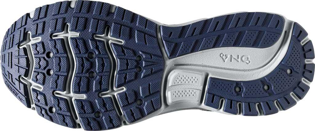 Women's Brooks Trace Running Sneaker, Grey/Nightshadow/Raspberry, large, image 6