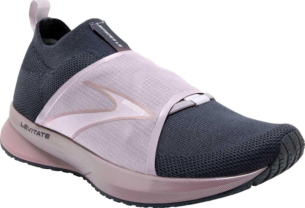Women's Brooks Levitate 4 LE Running Sneaker, Black/Ombre/Metallic, large, image 1