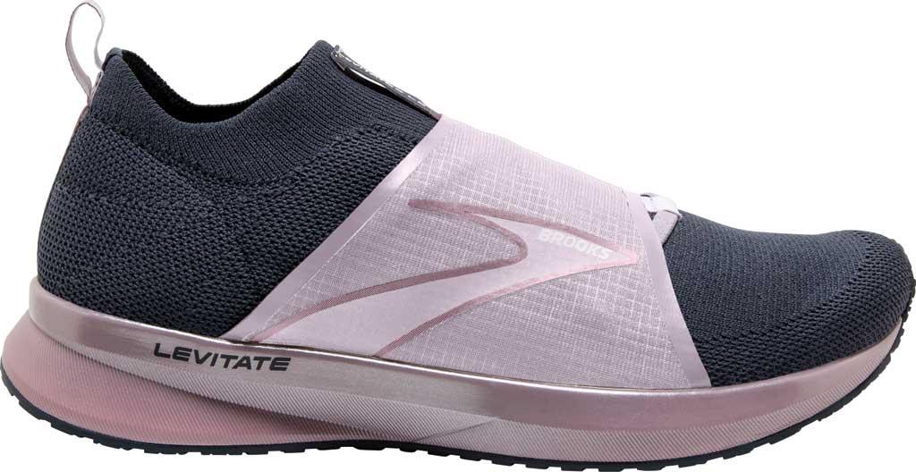 Women's Brooks Levitate 4 LE Running Sneaker, Black/Ombre/Metallic, large, image 2