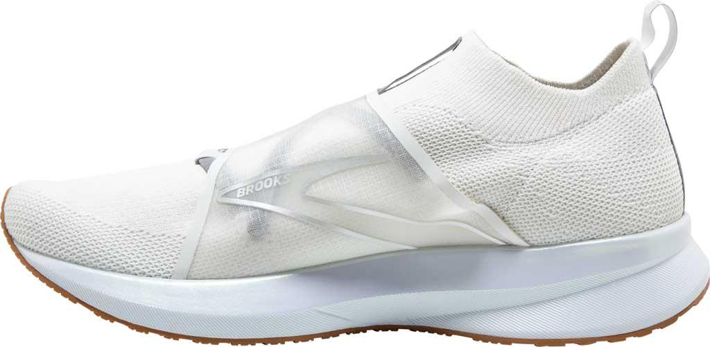 Women's Brooks Levitate 4 LE Running Sneaker, White/Silver/Tan, large, image 3