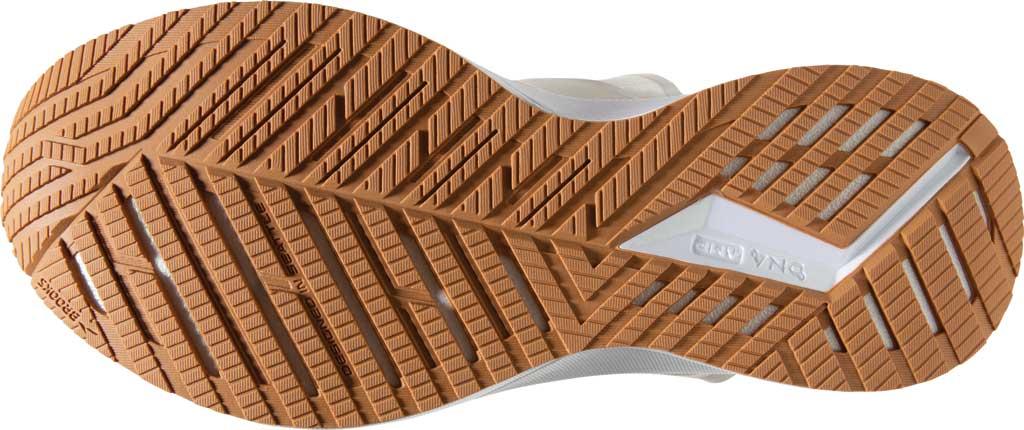 Women's Brooks Levitate 4 LE Running Sneaker, White/Silver/Tan, large, image 6