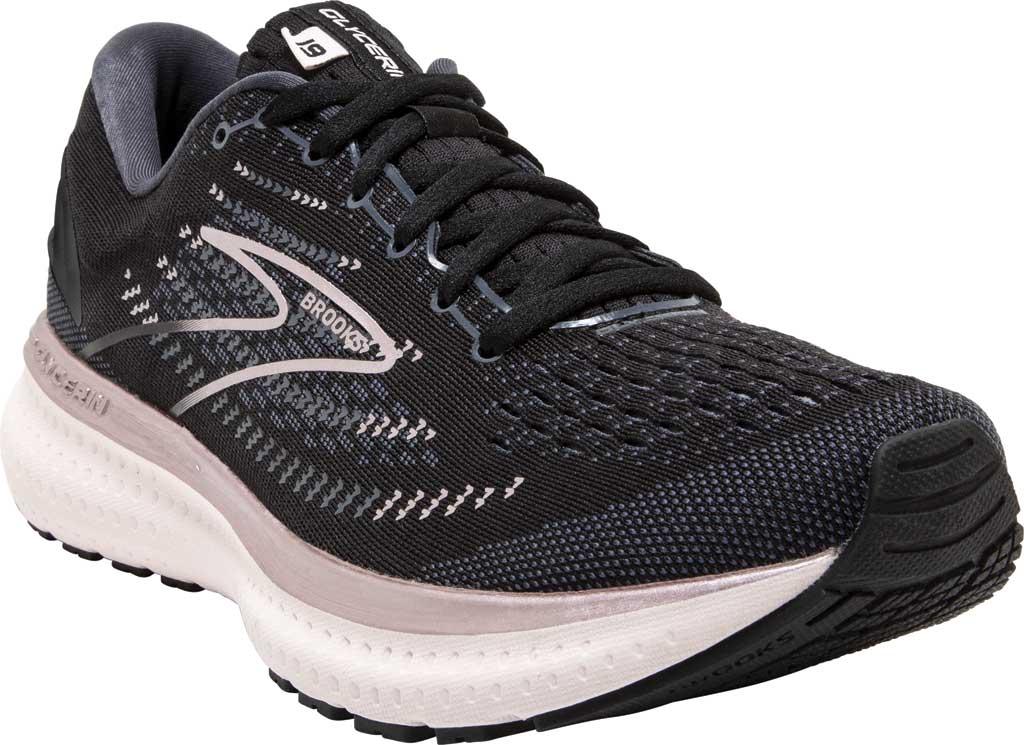 Women's Brooks Glycerin 19 Running Sneaker, Black/Ombre/Metallic, large, image 1