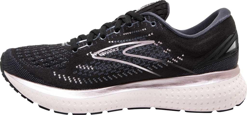 Women's Brooks Glycerin 19 Running Sneaker, Black/Ombre/Metallic, large, image 3