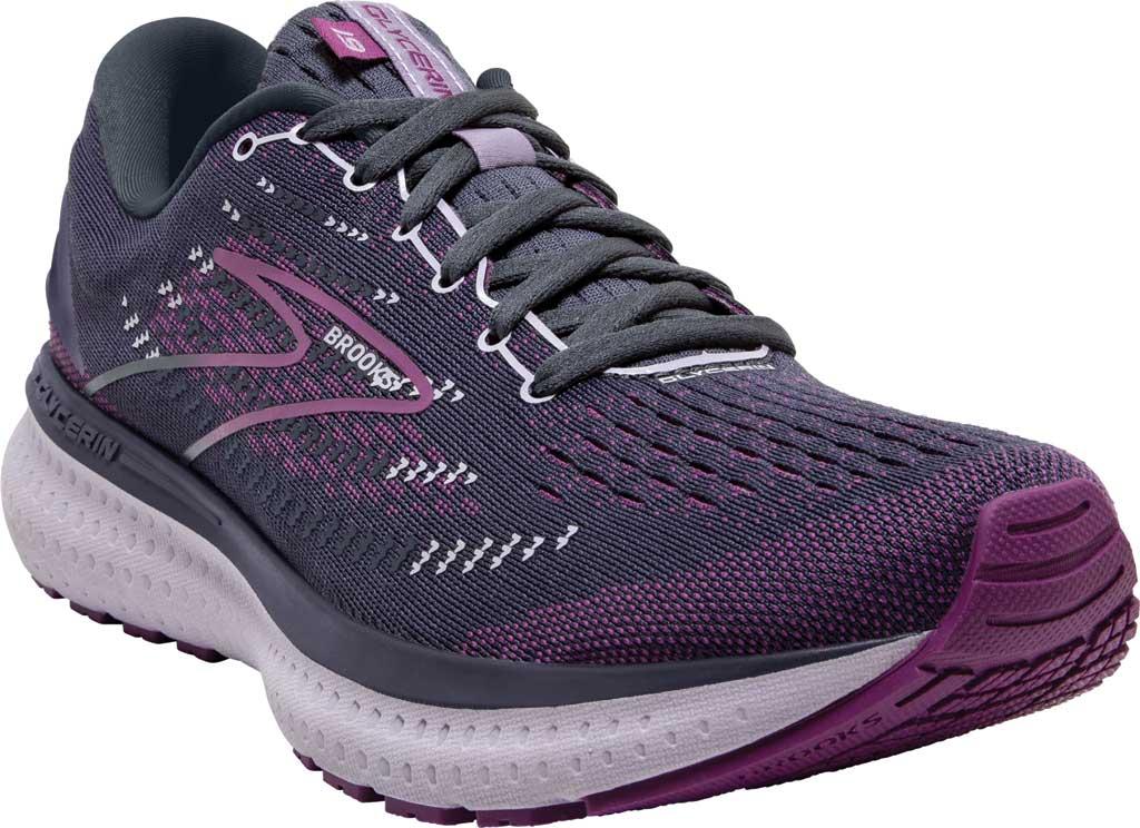 Women's Brooks Glycerin 19 Running Sneaker, Ombre/Violet/Lavender, large, image 1