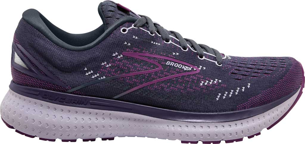 Women's Brooks Glycerin 19 Running Sneaker, Ombre/Violet/Lavender, large, image 2