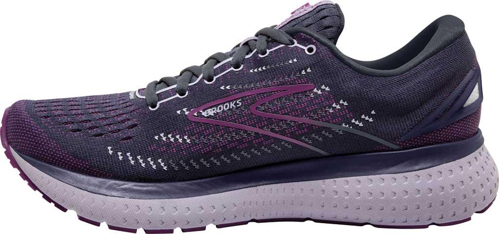Women's Brooks Glycerin 19 Running Sneaker, Ombre/Violet/Lavender, large, image 3