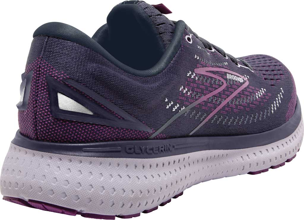 Women's Brooks Glycerin 19 Running Sneaker, Ombre/Violet/Lavender, large, image 4