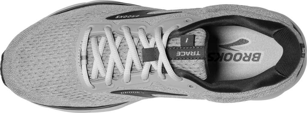 Men's Brooks Trace Running Sneaker, Alloy/Grey/Ebony, large, image 5