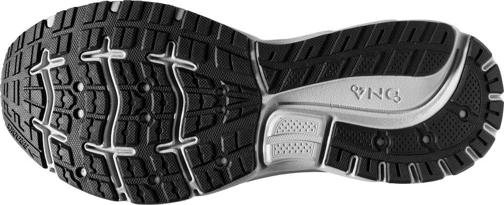 Men's Brooks Trace Running Sneaker, Alloy/Grey/Ebony, large, image 6