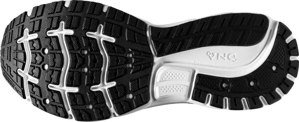 Men's Brooks Trace Running Sneaker, Black/Blackened Pearl/Grey, large, image 6