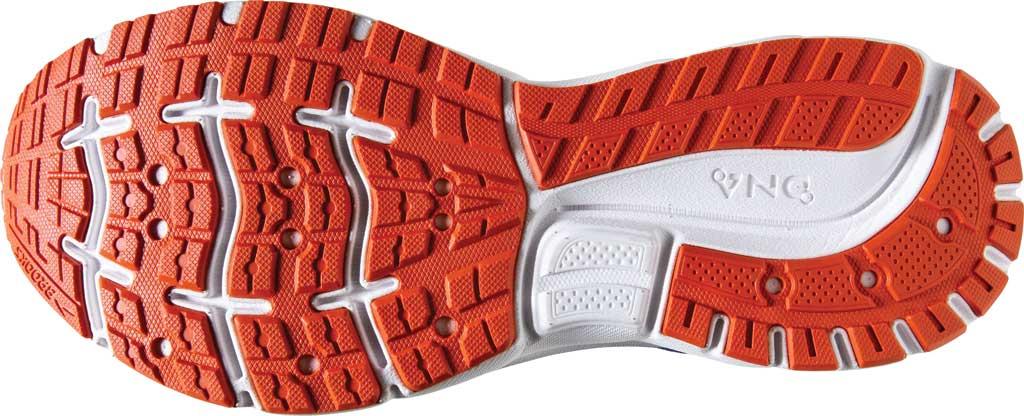 Men's Brooks Trace Running Sneaker, Blue/Navy/Orange, large, image 6