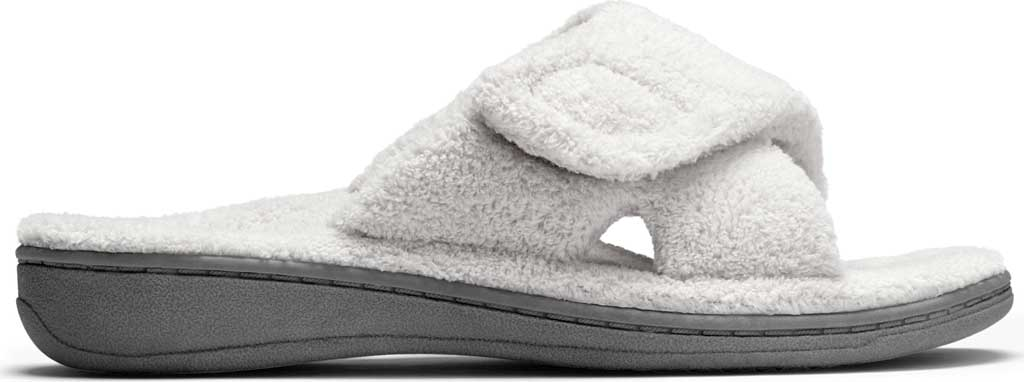 Women's Vionic Relax Slipper, Light Grey, large, image 2
