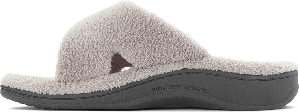 Women's Vionic Relax Slipper, Light Grey, large, image 3