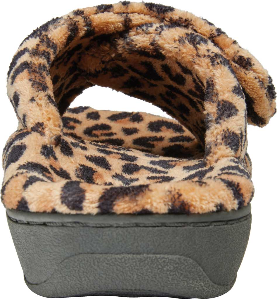 Women's Vionic Relax Slipper, Leopard Natural Tan Textile, large, image 4