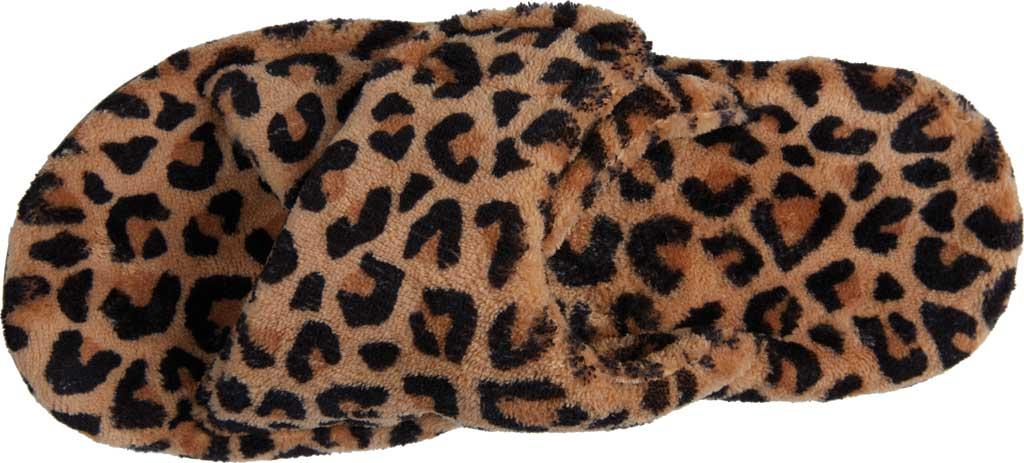 Women's Vionic Relax Slipper, Leopard Natural Tan Textile, large, image 5