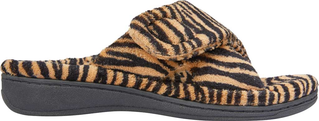 Women's Vionic Relax Slipper, Natural Tiger Textile, large, image 2