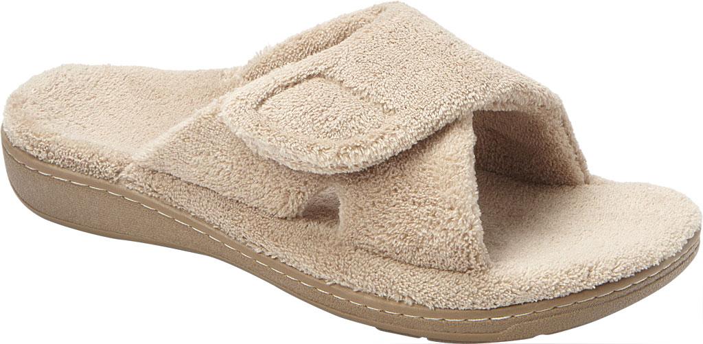 Women's Vionic Relax Slipper, Tan, large, image 1