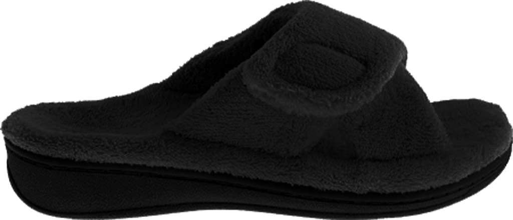 Women's Vionic Relax Slipper, Black, large, image 2