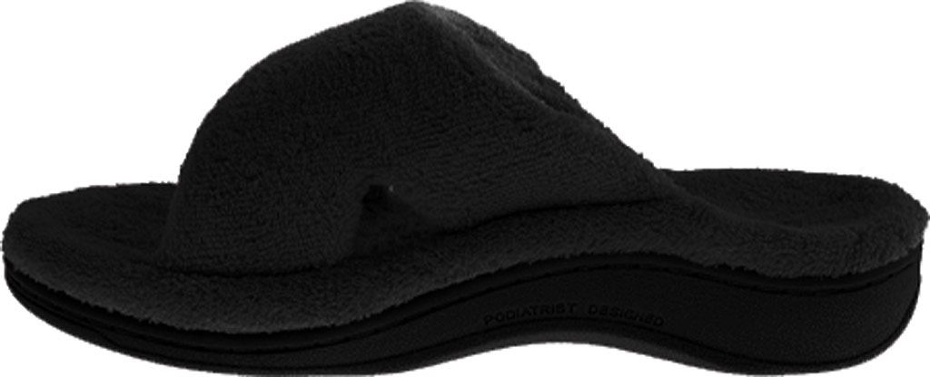 Women's Vionic Relax Slipper, Black, large, image 3