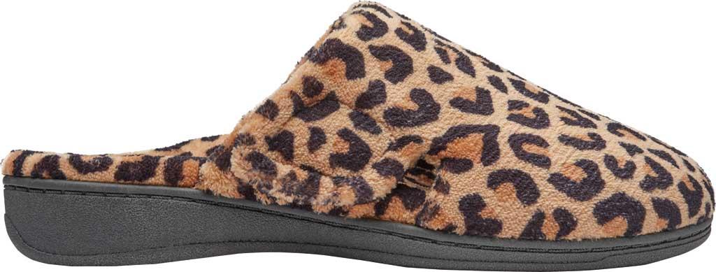 Women's Vionic Gemma Slipper, Leopard Natural Tan Textile, large, image 2