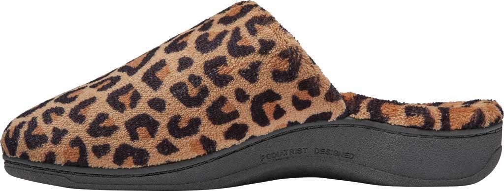 Women's Vionic Gemma Slipper, Leopard Natural Tan Textile, large, image 3