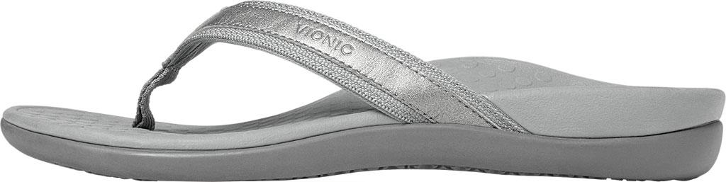 Women's Vionic Tide II Sandal, Pewter Metallic, large, image 3