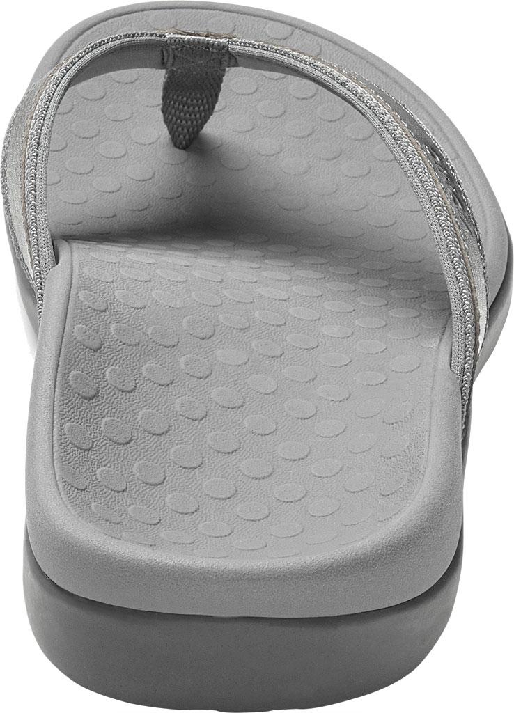 Women's Vionic Tide II Sandal, Pewter Metallic, large, image 4