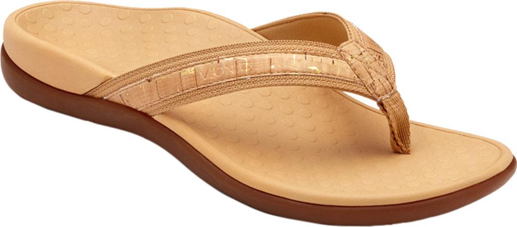 Women's Vionic Tide II Sandal, Gold Cork, large, image 1