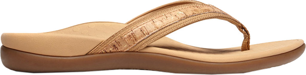 Women's Vionic Tide II Sandal, Gold Cork, large, image 2