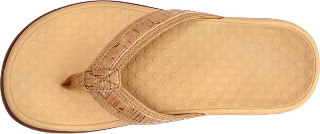 Women's Vionic Tide II Sandal, Gold Cork, large, image 3