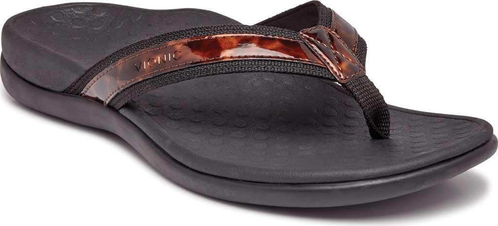 Women's Vionic Tide II Sandal, Black Tortoise, large, image 1