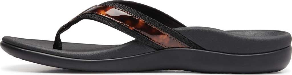 Women's Vionic Tide II Sandal, Black Tortoise, large, image 3