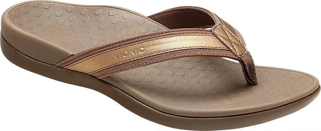 Women's Vionic Tide II Sandal, Bronze Metallic, large, image 1