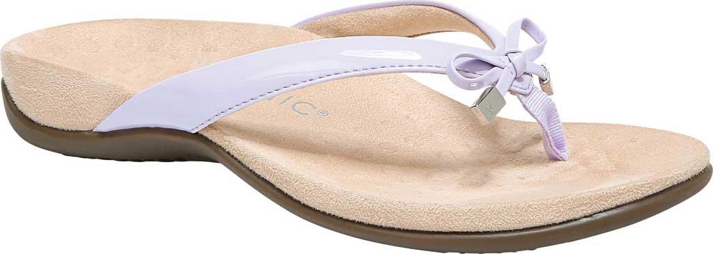 Women's Vionic Bella II Sandal, Pastel Lilac Polyurethane, large, image 1