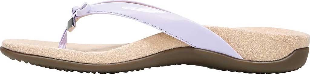 Women's Vionic Bella II Sandal, Pastel Lilac Polyurethane, large, image 3
