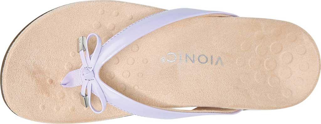 Women's Vionic Bella II Sandal, Pastel Lilac Polyurethane, large, image 5