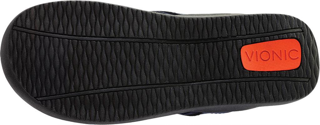 Men's Vionic Tide Toe Post Sandal, Navy Full Grain Leather, large, image 6
